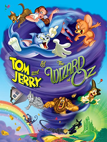 DVD : Tom and Jerry & The Wizard of Oz
