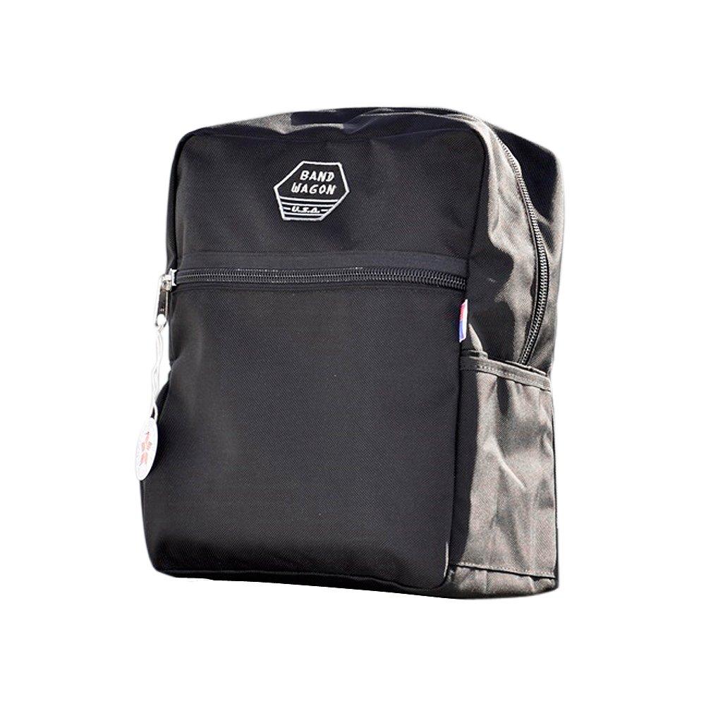 バンドワゴン ザ ブック バッグ [ ブラック ] BANDWAGON -MADE IN USA- THE BOOK BAG   B07CBVG9X6