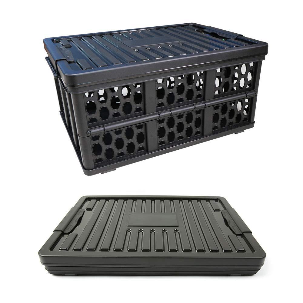 Petilleur Multi-Functional Storage Travel Box Trunk Storage Foldable Box Travel Car Crate Fishing Box