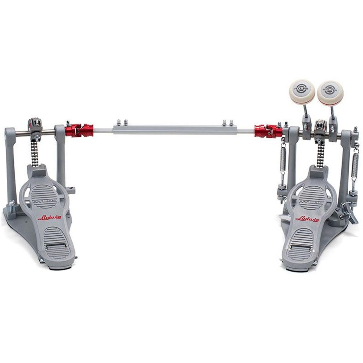 Ludwig LAP12FPR Atlas Pro Double Bass Drum Pedal with Rock Plate