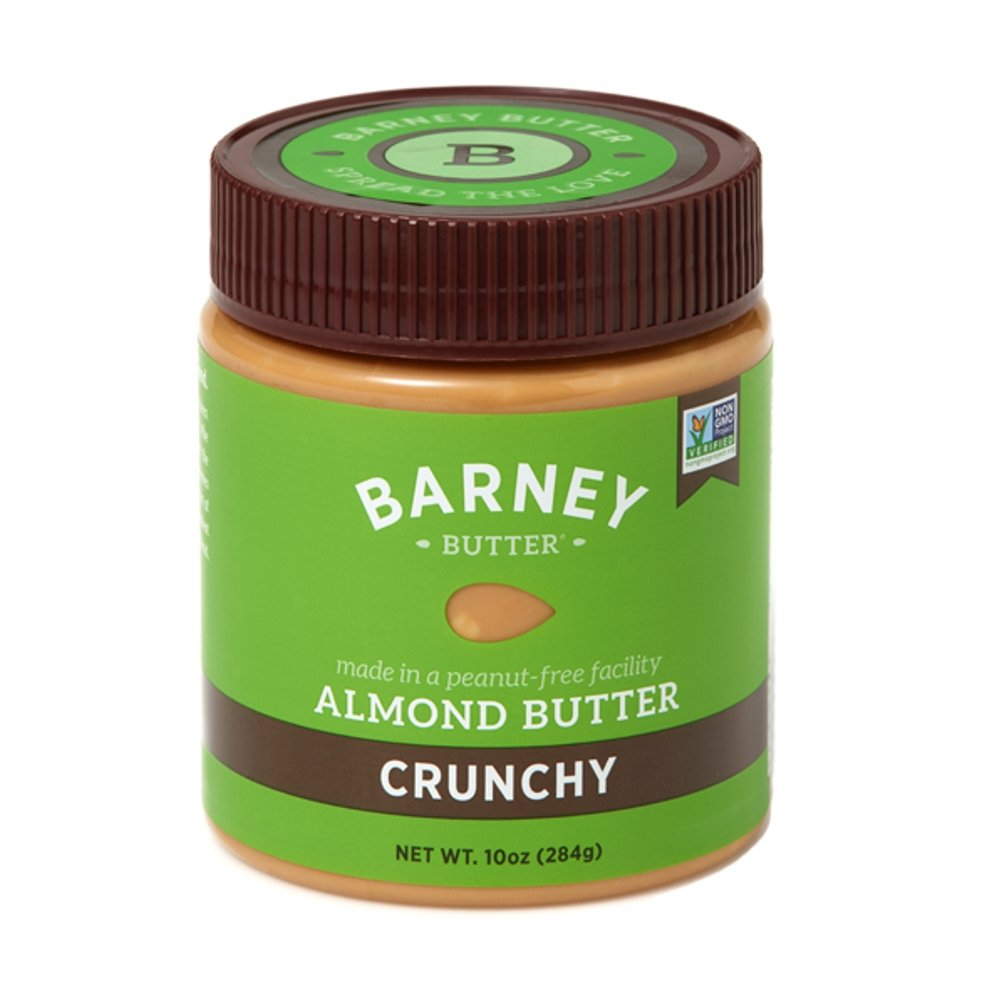 Barney Butter Almond Butter, Crunchy, 10 Ounce (Pack of 3)