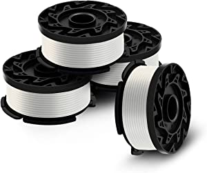 Generep Weed Eater Spool for Black and Decker AF-100, 30 Feet/0.065 Inches Line String Trimmer Autofeed System Replacement Spool, 4-Pack