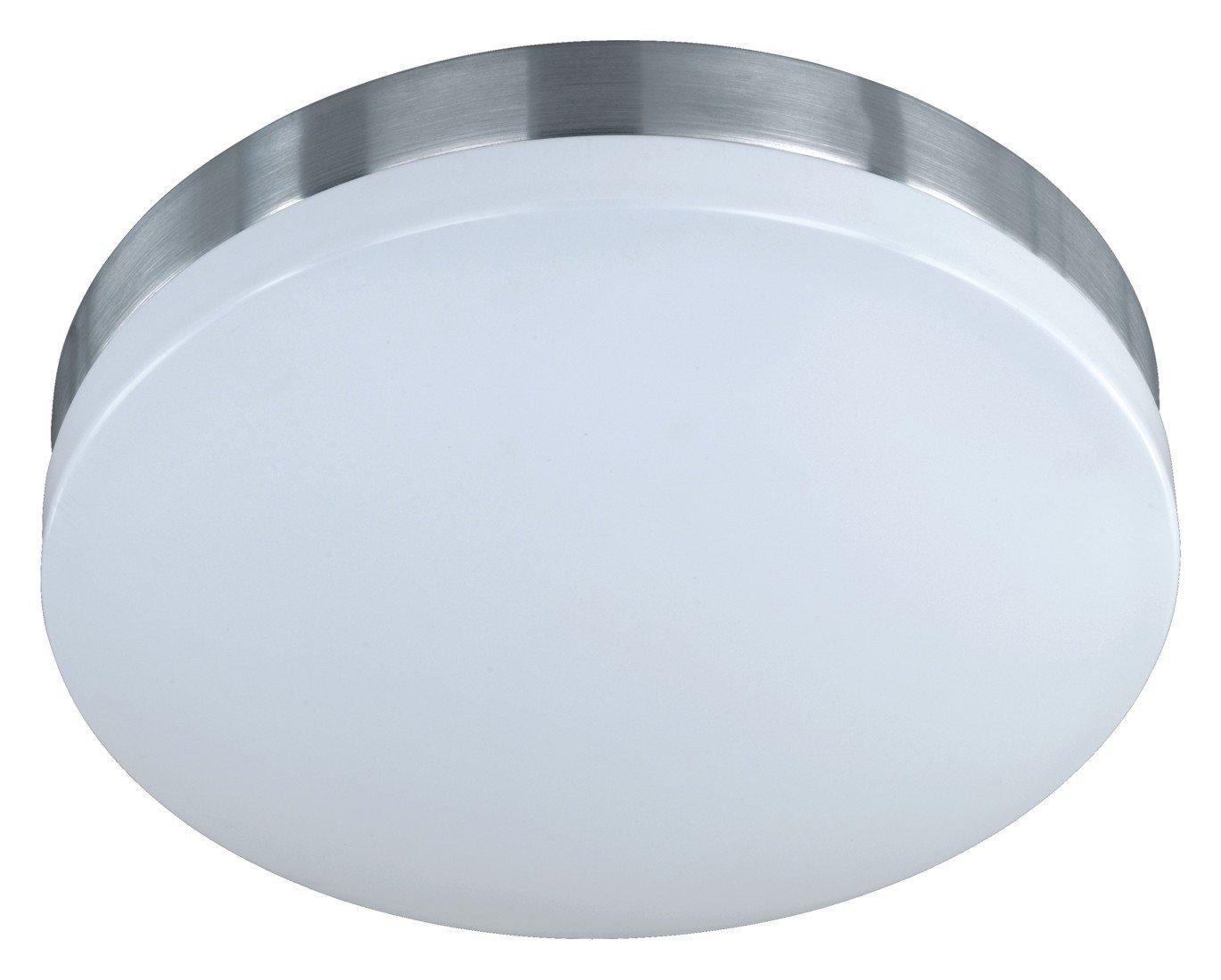 Trio Leuchten LED LED LED Deckenleuchte in Aluminium, inklusiv 1x18W LED 3100K 1620 Lumen , ø 36 cm, Höhe  11 cm, acryl weiß 625311805 6f0882