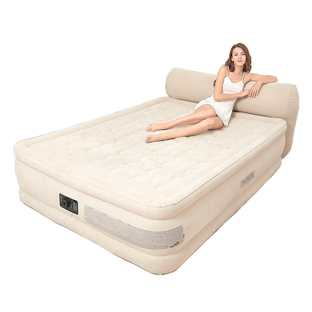 CQCDL Aufblasbare Betten Bett, Rückenlehne aufblasbare Matratze Haushaltsluftbett (Size : 152 * 229 * 79cm)