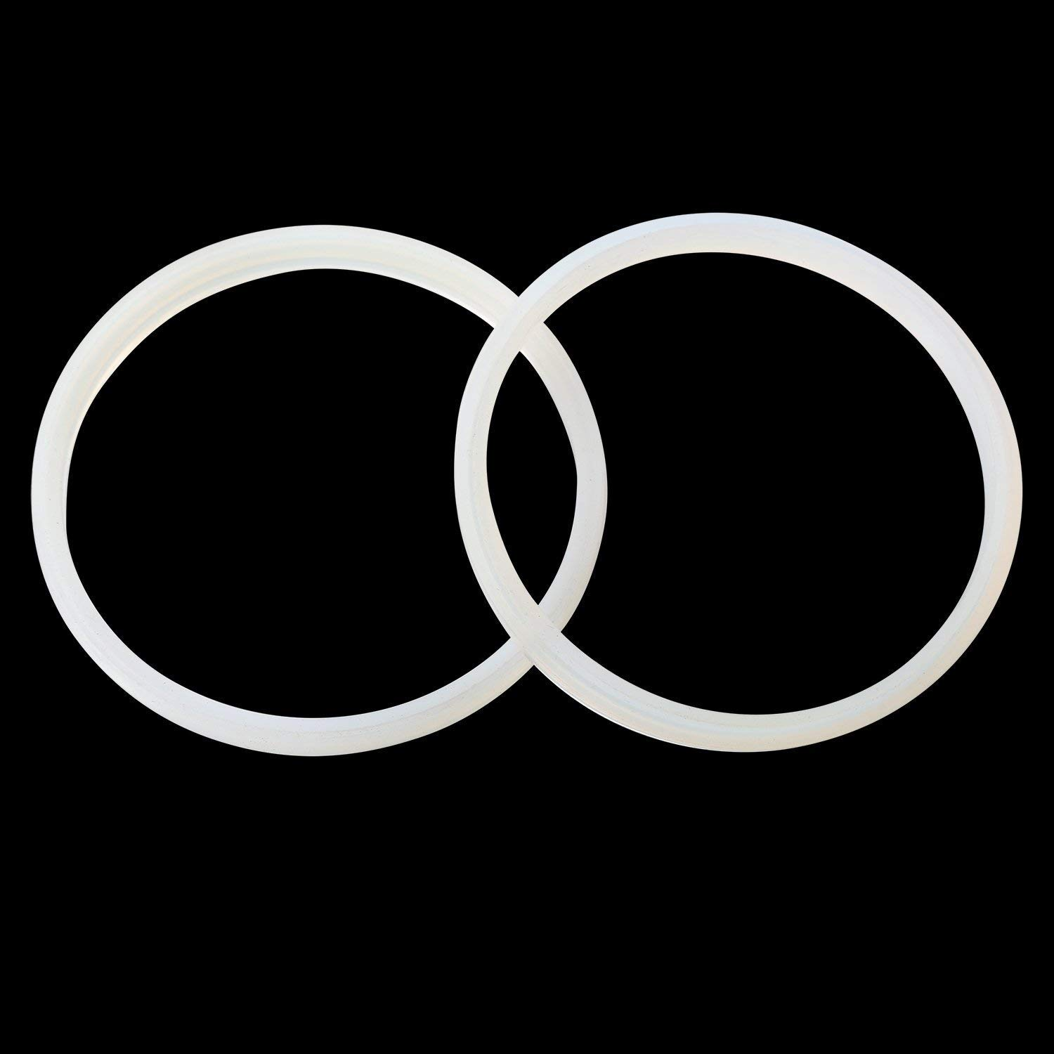 TWO PACK Replacement rubber seal gasket for SHC 7 L & VIVO STUFR-V003 & STUFR-V005 stuffer with 5
