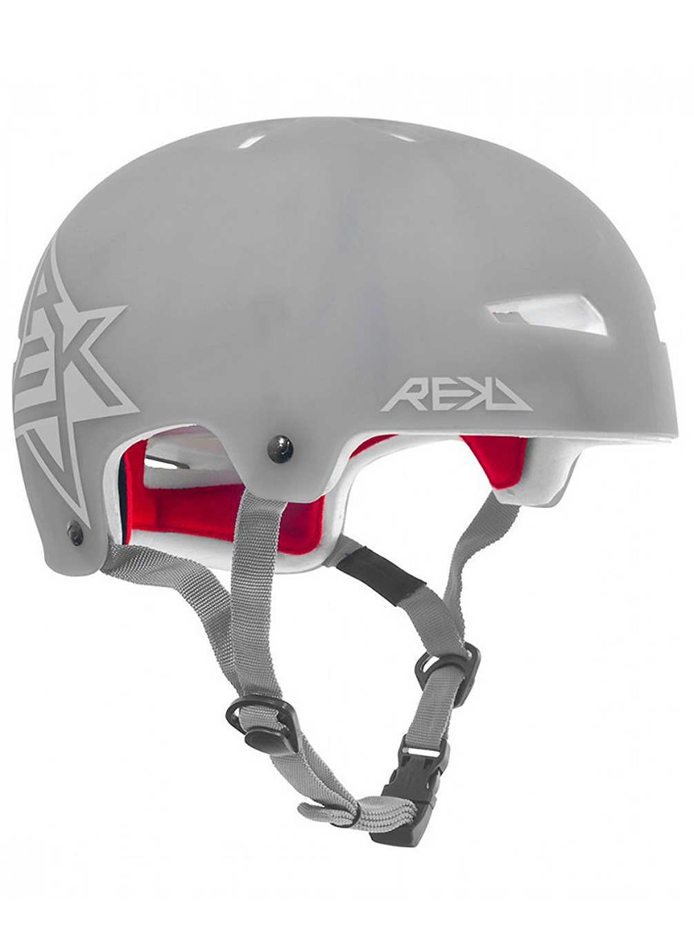 REKD Elite - halbtransparenter Helm - grau