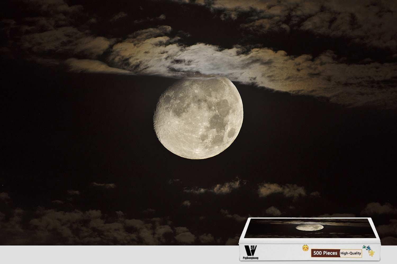 【2019 新作】 pigbangbang、20.6 X B07CV81XGC X 15.1インチ Moon、木製Largeサイズ – Midnight Full Moon – 500ピースジグソーパズル B07CV81XGC, クロベシ:84f20e21 --- fenixevent.ee