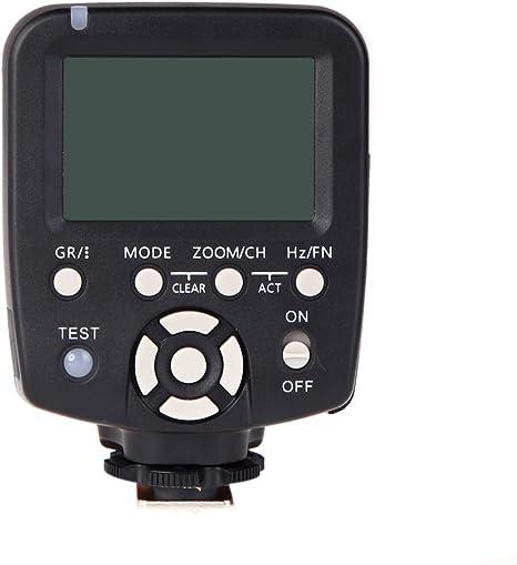Yongnuo YN560-TX - Controlador inalámbrico de Flash para cámaras ...