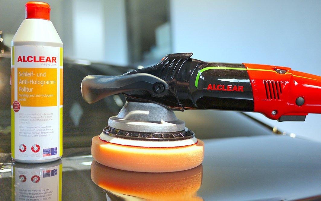 gaufr/é pour Un 5 Disc System///Ø 135x25 mm ALCLEAR Kid de 2 Pad de Finition Contre Les Hologramme Anthracite