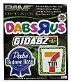 BAMFdecals Dabs R Us Dabz Sticker Pack Includes 4 Premium Grade Printed Marijuana Decals from Bamfdecals