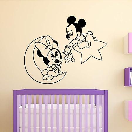 xingbuxin Cartoon Mouse PVC Tatuajes de Pared Decoración para el ...