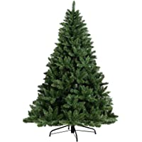 1.8M Christmas Tree 6FT Xmas Faux Green Tree Thick Foliage Jingle Jollys Holiday Decoration Indoor Décor Home Office…