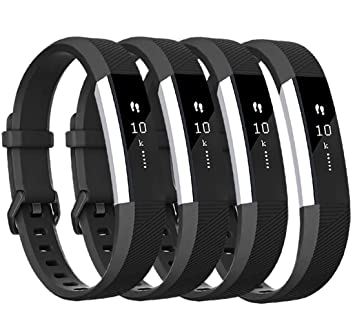 Amazon.com: Tobfit 4 Pack Bands Compatible with Fitbit Alta ...