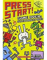 Game Over, Super Rabbit Boy! A Branches Book (Press Start! #1): A Branches Book