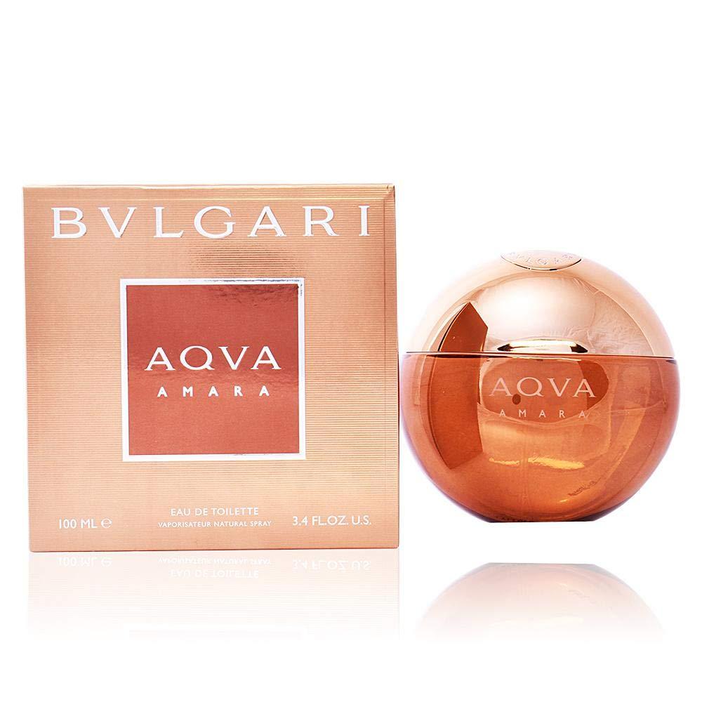 fb534876d3686 Amazon.com   Bvlgari Aqva Amara Eau de Toilette Spray for Men, 3.4 Ounce    Beauty