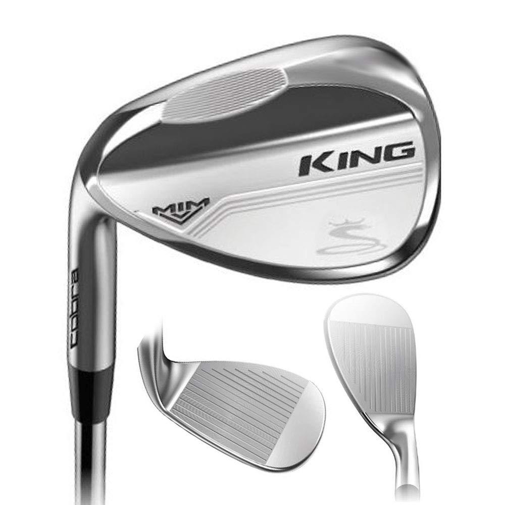 2019 Cobra Golf King Mim Wedge (Men's, Left Hand, Steel, Wedge Flex, Versatile Grind, 60.0 Degree) by Cobra