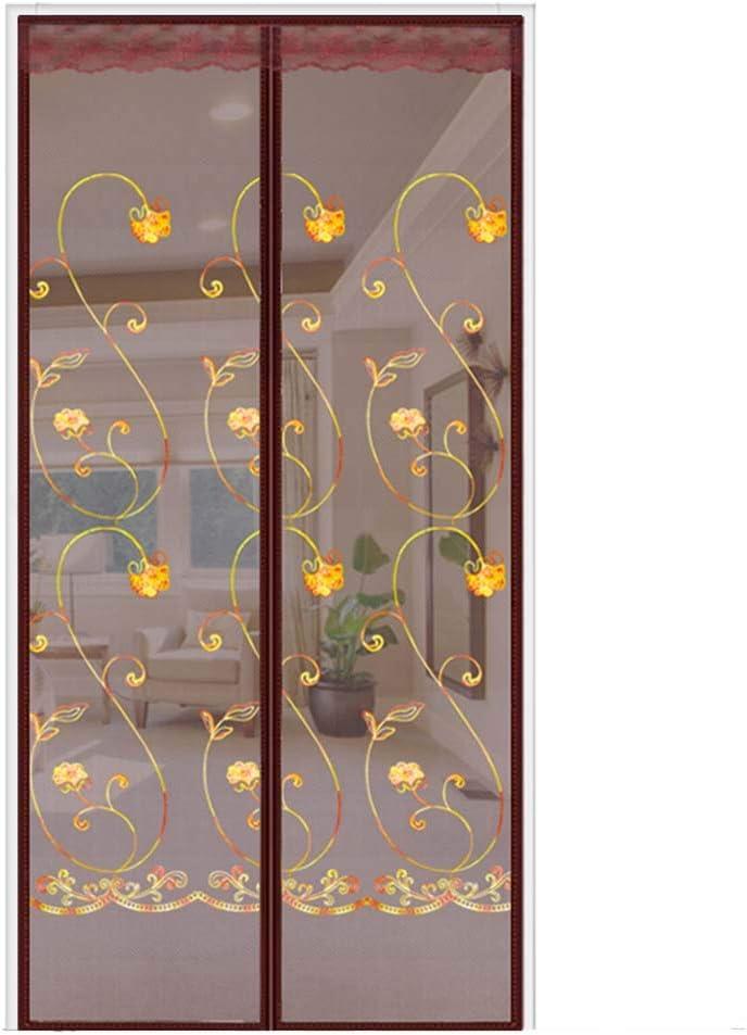 Xiaoxi Cortina Mosquitera MagnéTica para Puertas,Mosquitera MagnéTica para Puertas Cortina De Sala De Estar La Puerta del Puerta Corredera De Patio,120 * 210: Amazon.es: Hogar