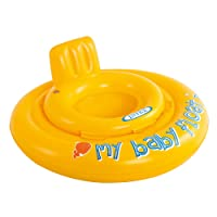Intex 56585EU - Salvagente My Baby Float, con Mutandina Bambini, per 1/2-1 Anni, Giallo