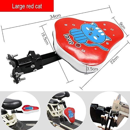 FHGH Silla Bicicleta NiñO,Asientos para Bicicleta De NiñO Asiento ...