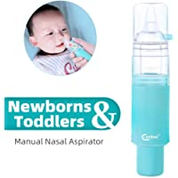 Eenbei Baby Nasal Aspirator, Manual Three-Size Suction for Choice, Injury Free, BPA Free, Gift for Baby Shower and Registry Essential