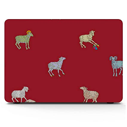 MacBook Accessories Sheep Retro Wild Animal Naturel Plastic Hard Shell Compatible Mac Air 11 Pro 13 15 13inch MacBook Air Case Protection for MacBook 2016-2019 Version