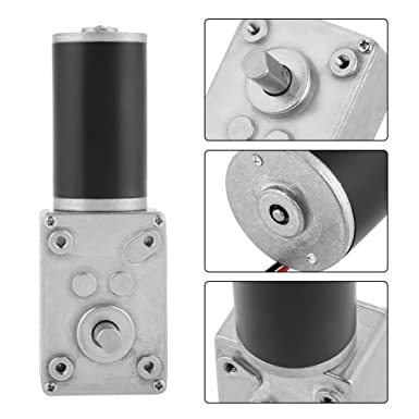 5840-31ZY Permanent Magnet DC Motor Turbine Worm Getriebemotor 12V 200RPM 21W se