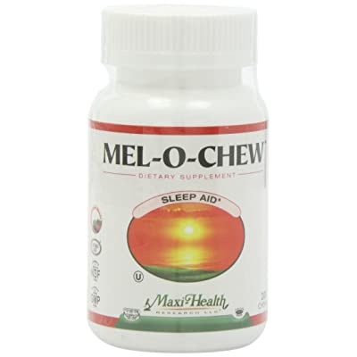 Maxi Health Mel-O-Chew - Chewable Melatonin - Sleep Aid