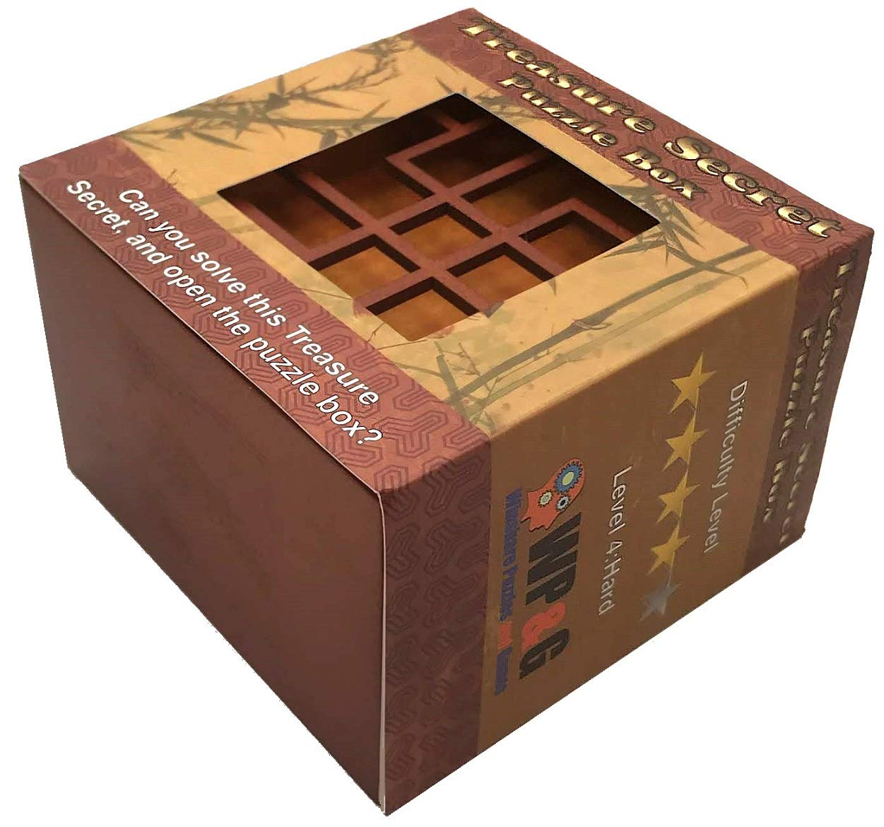 Treasure Secret Puzzle Box Money And Gift Card Holder In A Wood