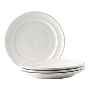 Tuxton Home Concentrix Dinner Plate (Set of 4) 10 1/2u0026quot;  sc 1 st  Amazon.com & Amazon.com | Tuxton Home Concentrix Dinner Plate (Set of 4) 10 1/2 ...