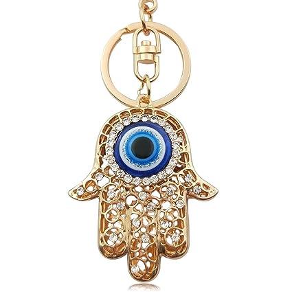 6 * 4.5CM Amuleto Buda llaveros de la Mano Mujeres Lucky ...