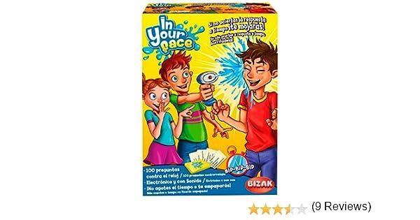 Bizak-En tu Cara, Juego de Mesa (35001917): Amazon.es: Juguetes y juegos
