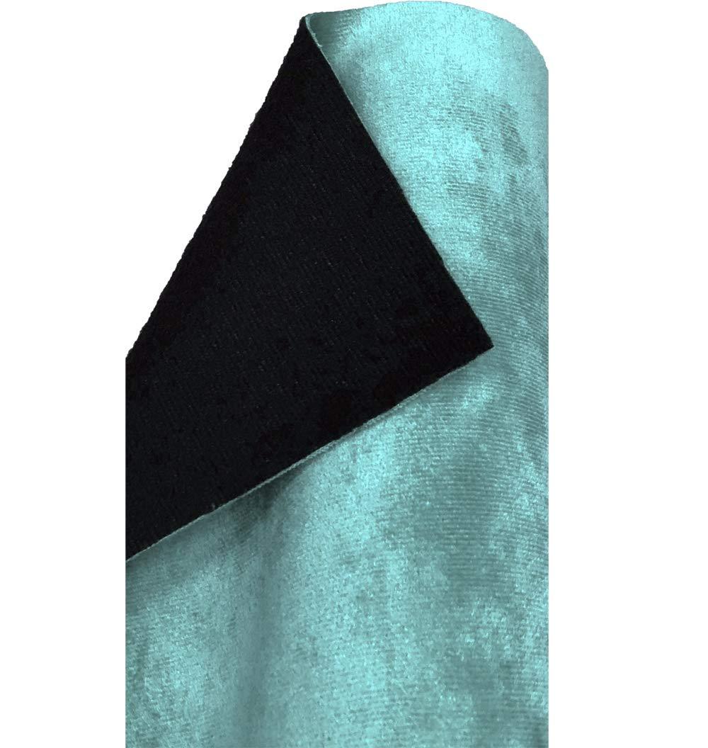 Cojines 100cm x 145cm Tapicer/ía Azul Claro 1 Metro A-Express Tela Terciopelo Liso Gamuza sint/ética Material revestimiento espalda para decoraci/ón Cortinas Costura y Manualidades