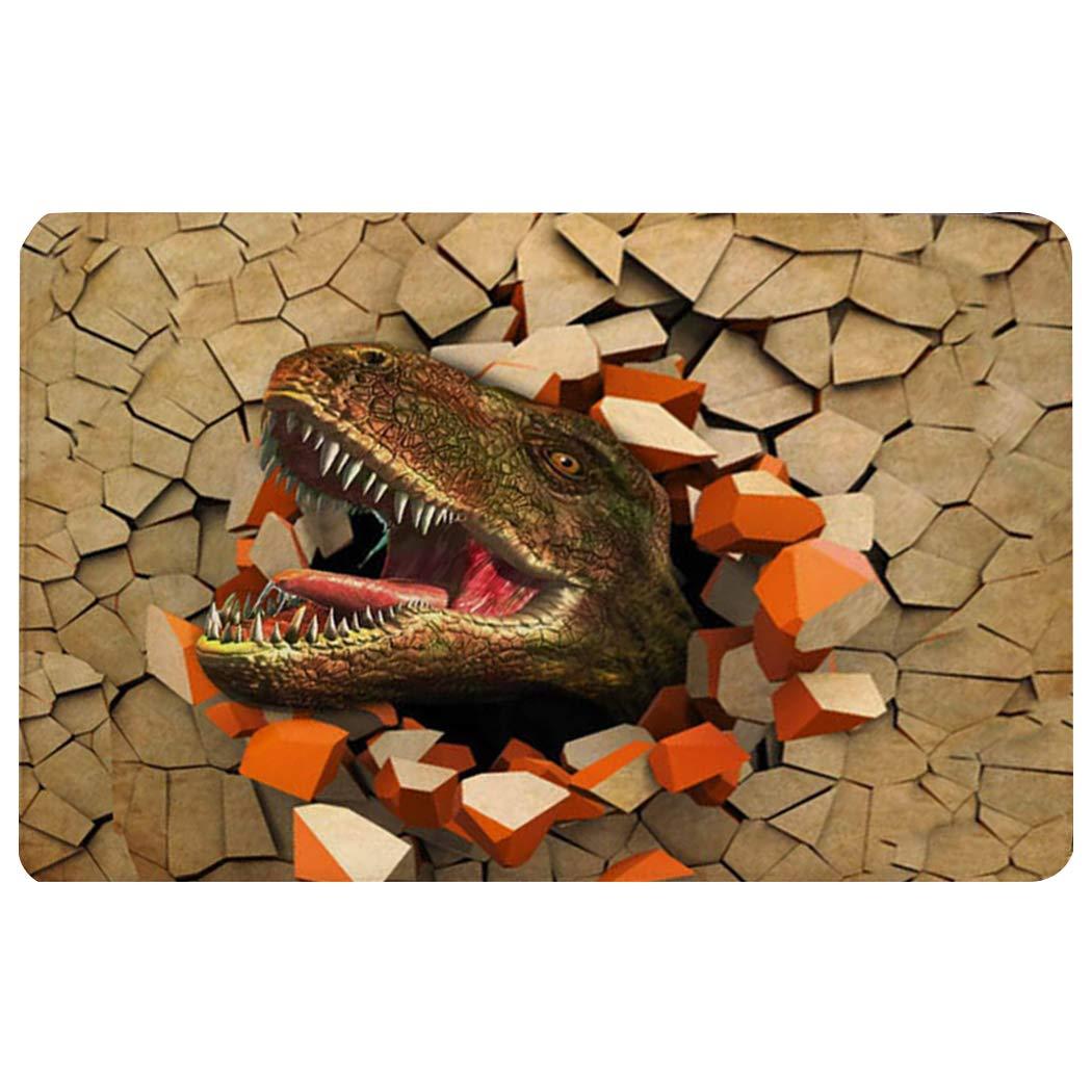 Dino 3D Foot Mats
