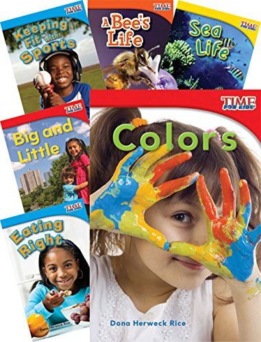 Teacher Created Materials - TIME for Kids Informational Text: STEM Collection - 10 Book Set - Grade 1 - Guided Reading Level A - H