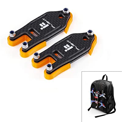 iFlight 2 Set FPV Drone Lock Mount for Backpack Plug-in Accessories DIY Bundle Mount Hanging Buckle with 4pcs Battery Straps 20X200mm and 20x250mm for FPV Quadcopter: Toys & Games