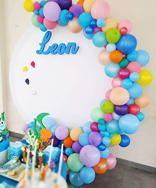 Amazon.com: Wonderfulshop - Kit de guirnalda de globo para ...