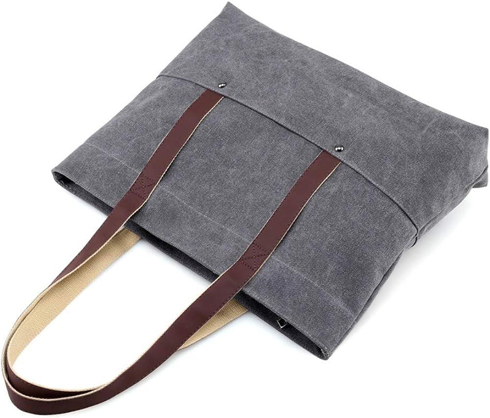 Women Canvas Hobo Handbag /& Shoulder Shopping Bag