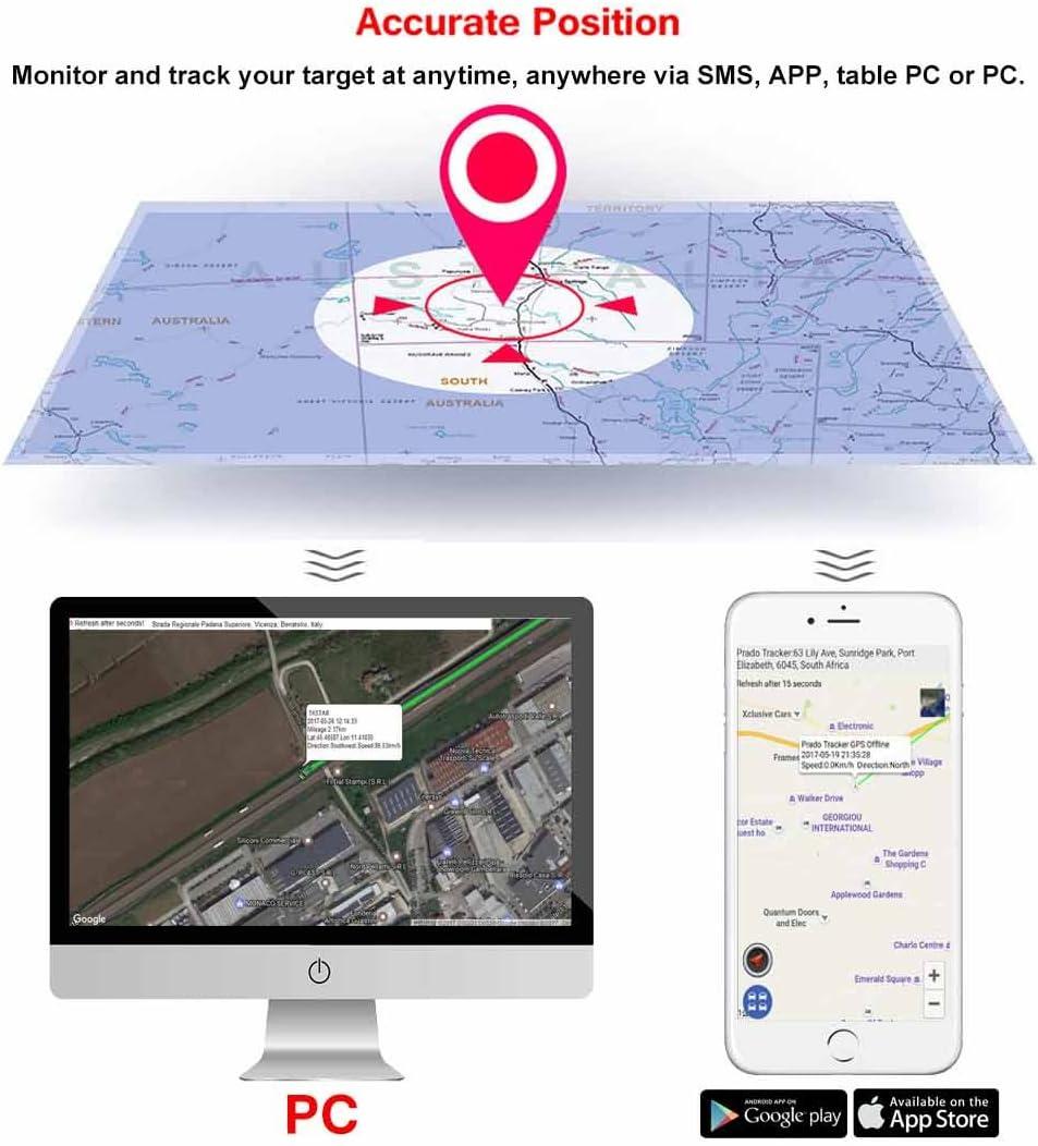 Long Time Standby with GPS//LBS Dual models TKSTAR Mini Personal GPS Tracker