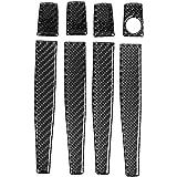 Keenso Car Carbon Fiber Exterior Door Handle Cover Trims Decorative Handle Protector Sticker for Chevrolet Cruze 2009-2015 4 Pcs