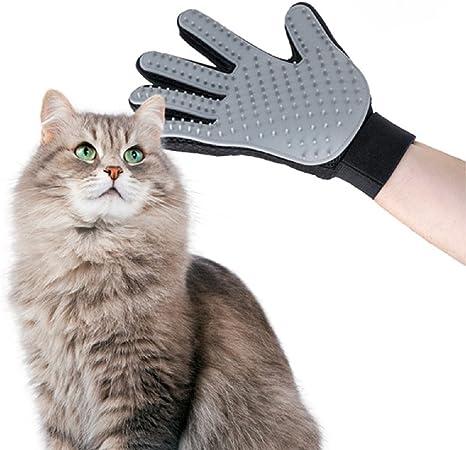 Guante de cepillado Picot cepillo para eliminar pelo perro y gato ...
