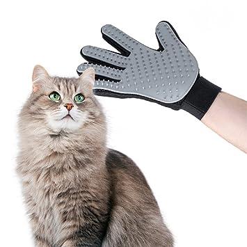 Guante de cepillado Picot cepillo para eliminar pelo perro y gato, accesorios animales: Amazon.es: Productos para mascotas