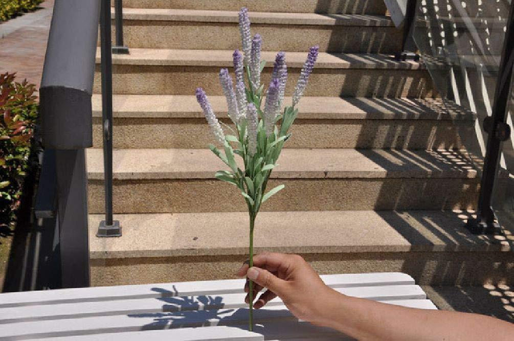 Inteeon 造花 グリーンコーラル中空の葉 花の葉 ベイン ネットワークシミュレーションリーフウミガメ One Size ブルー SDJKL32850919467 B07GJFYBHM バイオレット