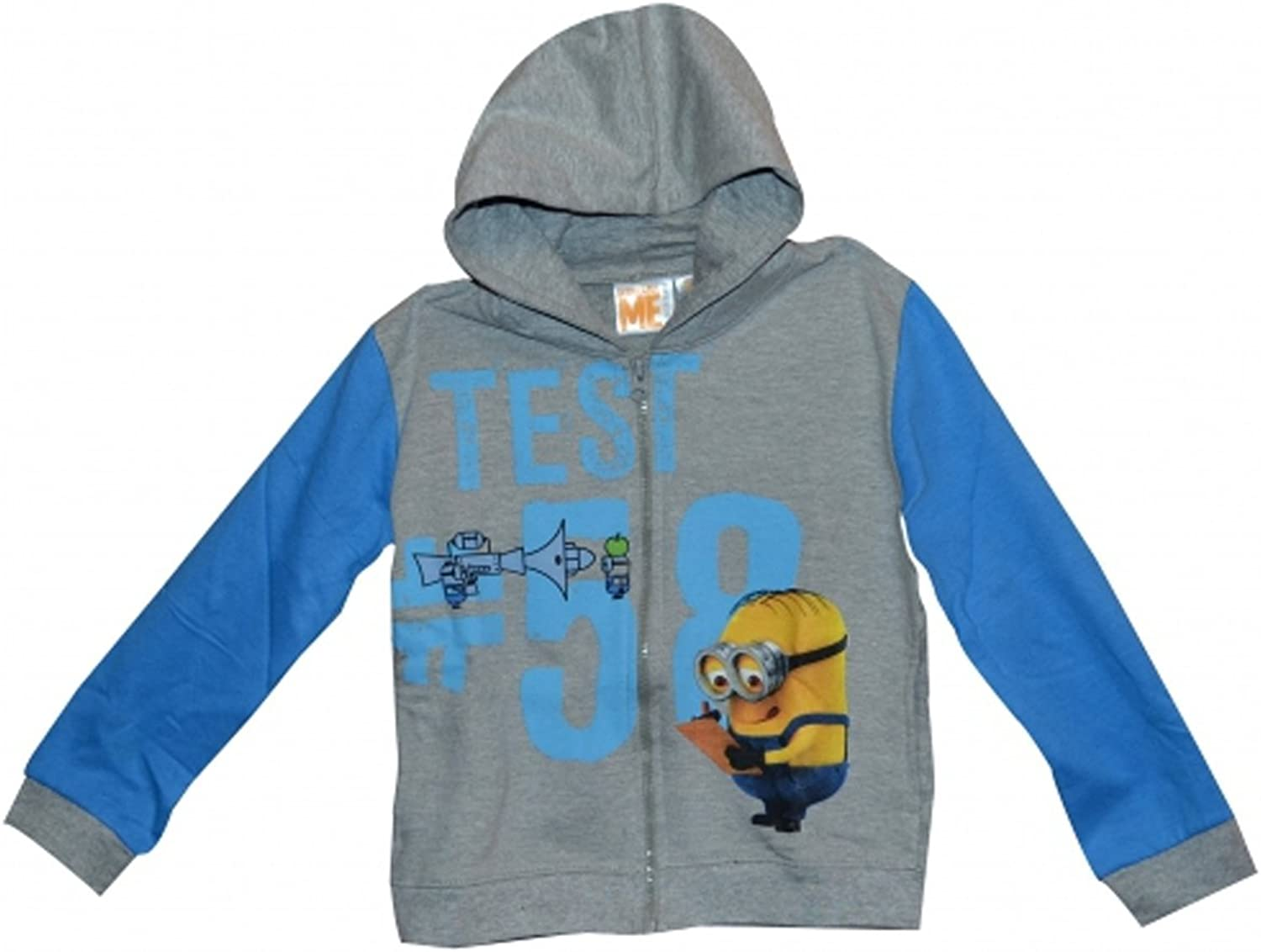 10 Years Character Minions Grey Hoodie Jumper Clothing