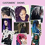 """20"""" Dreadlock Extension Ombre For Hip-Hop Synthetic"""