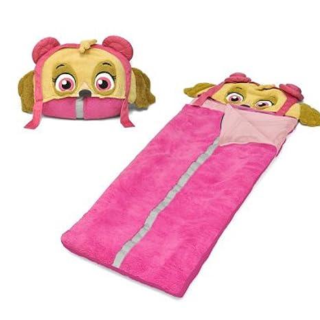 Nickelodeon Paw Patrol Skye - Saco de dormir con capucha para niña