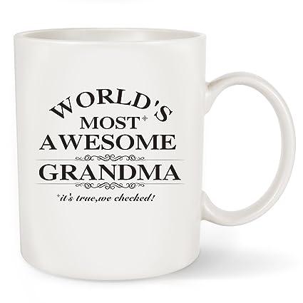 amazon com mother s day gifts best grandma coffee mug world s
