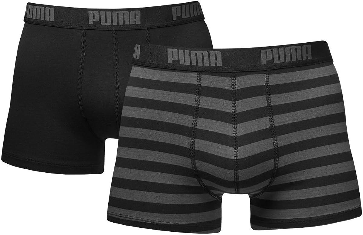 Puma Bodywear Stripe 15 - Bóxer para hombre (pack de 2): Amazon.es ...