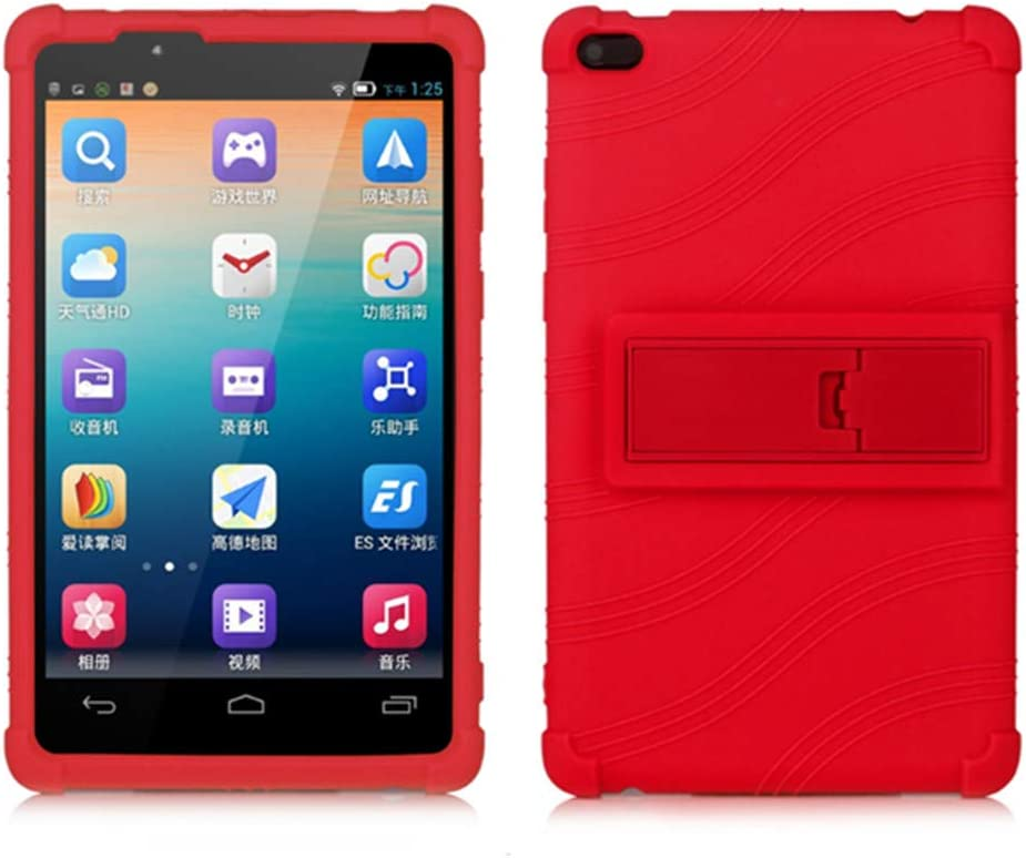 Lenovo TAB 4 8 Kids Case - Light Weight [Anti Slip] Shock Proof Protective Cover for Lenovo TAB 4 8 TB-8504F TB-8504N Tablet 2017 Release,(NOT for Lenovo Tab E8 TB-8304F or Plus Model TB-8704) (Red)