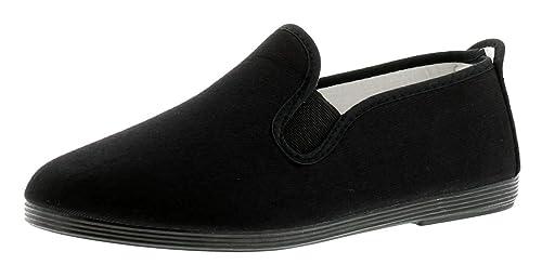 Flossy infantil gaudix Zapatillas - Negro - GB Tallas 1-13 - Negro, 35.5