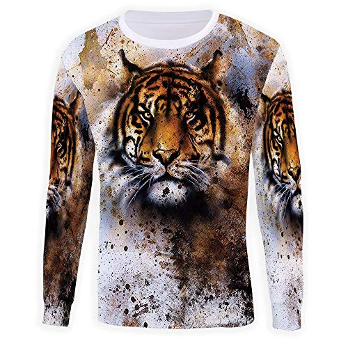 - Adult Tiger Crewneck Sweatshirt